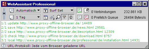 MM3-WebAssistant - Proxy Offline Browser