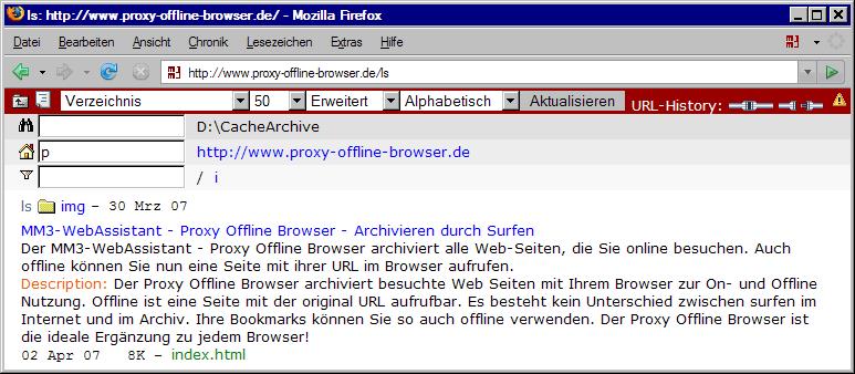 http://www.Proxy-Offline-Browser.de/ls