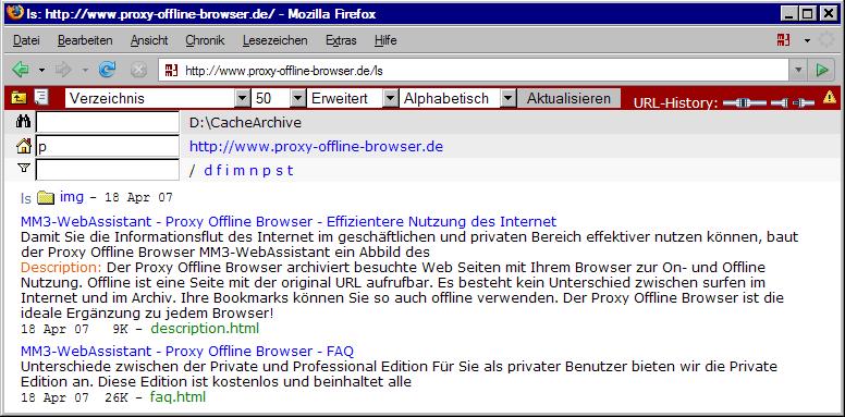 Verzeichnis: http://www.Proxy-Offline-Browser.de/ls